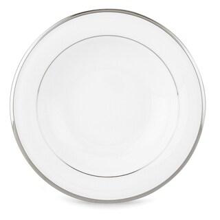 """Lenox Solitaire White 9"""" Pasta/ Rim Soup Bowl"""