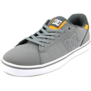 DC Shoes Men's Notch Grey Leather Athletic Shoes