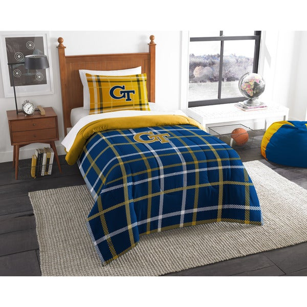 The Northwest Company COL 835 Georgia Tech Twin Comforter Set