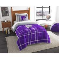 The Northwest Company COL 835 Kansas State Twin Comforter Set