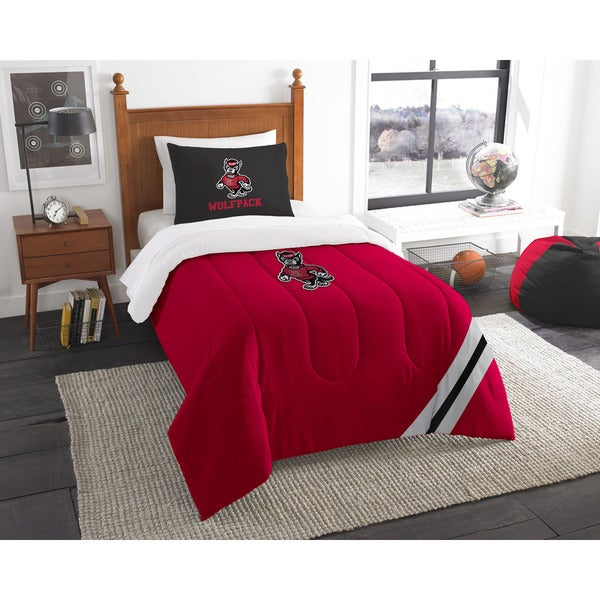 The Northwest Company COL 835 NC State Twin Comforter Set