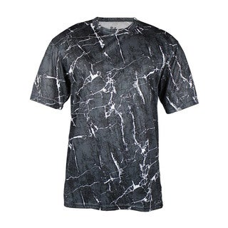 Boys' Graphite Shock Polyester Basic T-shirt
