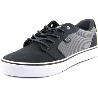 DC Shoes Men's Anvil TX SE Black Textile Basic Athletic Shoes