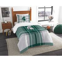 The Northwest Company COL 835 Michigan State Twin Comforter Set