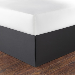 Nautica Charcoal Cotton Bedskirt