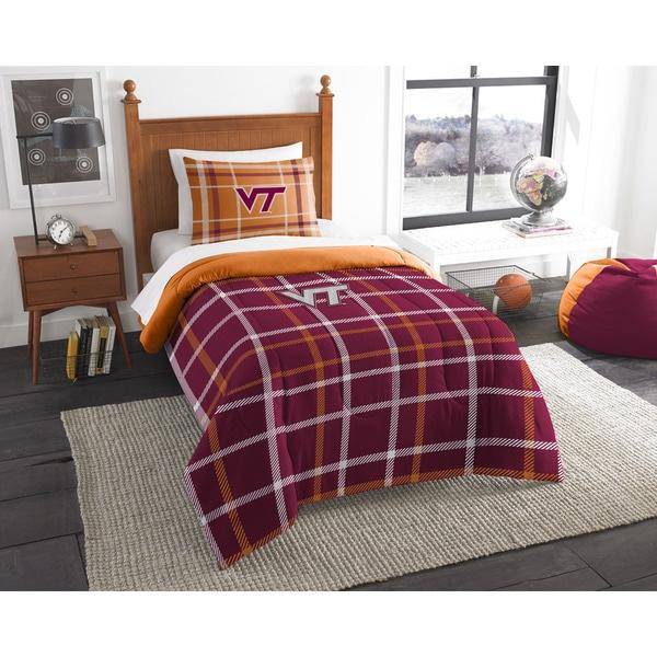The Northwest Company COL 835 Virginia Tech Twin Comforter Set