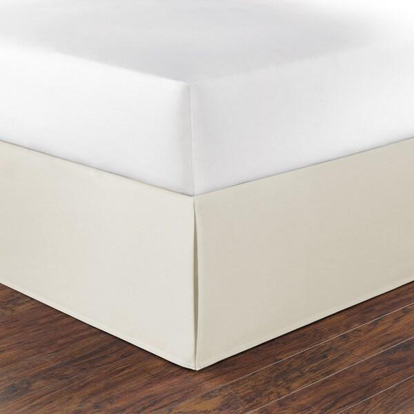 Nautica Ivory Cotton 15-inch Drop Bedskirt