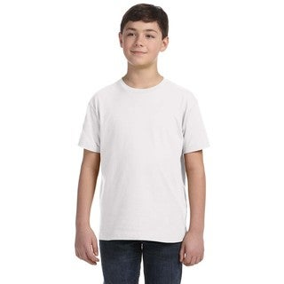 Fine Youth White Jersey T-Shirt