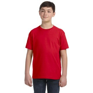 Boys' Red Fine Jersey T-shirt