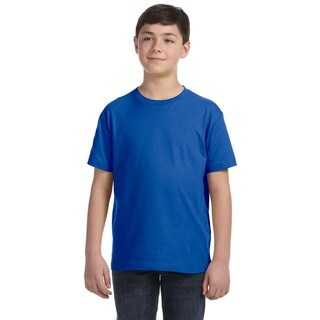 Youth Royal Blue Jersey T-shirt (5 options available)
