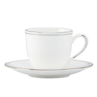 Lenox Federal Platinum Demi Saucer & Cup