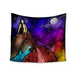 Kess InHouse Mandie Manzano 'Fairy Tale Mermaid' 51x60-inch Wall Tapestry