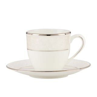 Lenox Pearl Innocence Demi Cup & Saucer