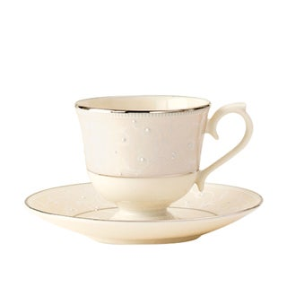Lenox Pearl Innocence Cup And Saucer Set