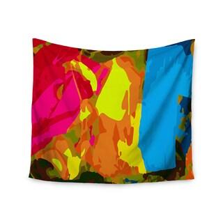 Kess InHouse Matthias Hennig 'Colored Plastic' 51x60-inch Wall Tapestry