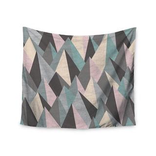 Kess InHouse Michelle Drew 'Mountain Peaks III' 51x60-inch Wall Tapestry