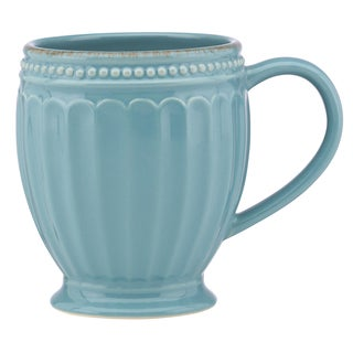 Lenox French Perle Groove Chambray Mug
