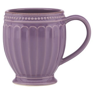 Lenox French Perle Groove Lavender Mug
