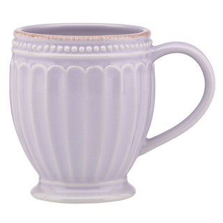Lenox French Perle Groove Lilac Mug