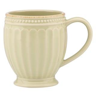 Lenox French Perle Groove Pistachio Mug