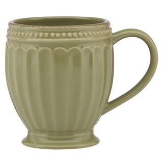 Lenox French Perle Groove Thyme Mug