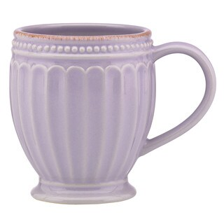 Lenox French Perle Groove Violet Mug