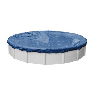 Robelle Olympus Blue Polyethylene 20-year Winter Cover for Round Above Ground Swimming Pools