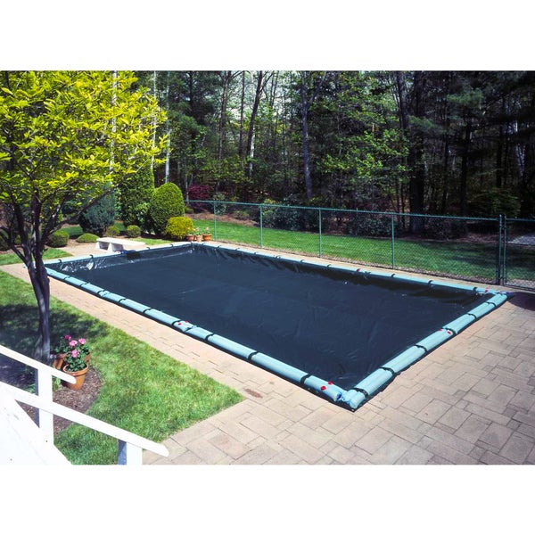 Robelle Blue Polyethylene Pool Cover for In-ground Swimming Pools