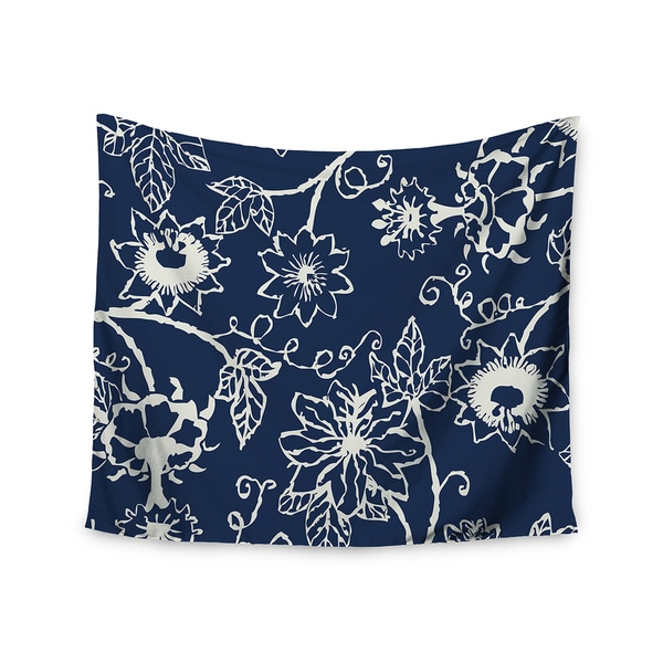 Kess InHouse Laura Nicholson 'Passion Flower' 51x60-inch Wall Tapestry