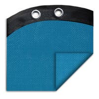 Pool Mate Econo-Mesh Blue Polyethylene Winter Cover for Oval Above Ground Swimming Pools