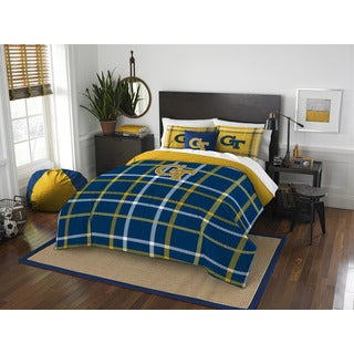 The Northwest Company COL 836 Georgia Tech Full Comforter Set