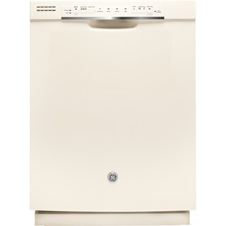 GE Plastic and Stainless Steel Full Console Dishwasher