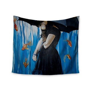 Kess InHouse Lydia Martin 'Sink or Swim' 51x60-inch Wall Tapestry