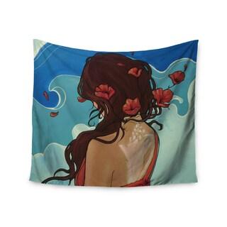 Kess InHouse Lydia Martin 'Sea Swept' 51x60-inch Wall Tapestry
