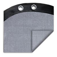 Pool Mate Pro-mesh XL Silver Winter Cover for Oval Above Ground Swimming Pools