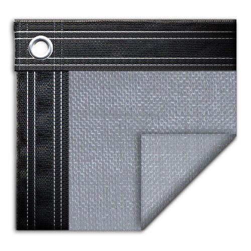 Pool Mate 15-year Pro-Mesh XL Silver Winter Cover for In-ground Swimming Pools