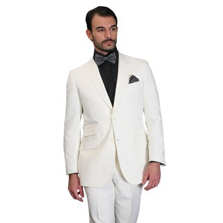 Men's SL-100 Off-white Statement Suit