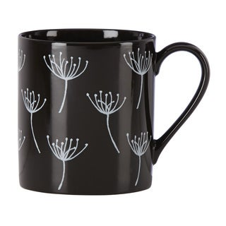 Lenox Around the Table Black Wish Desert Mug