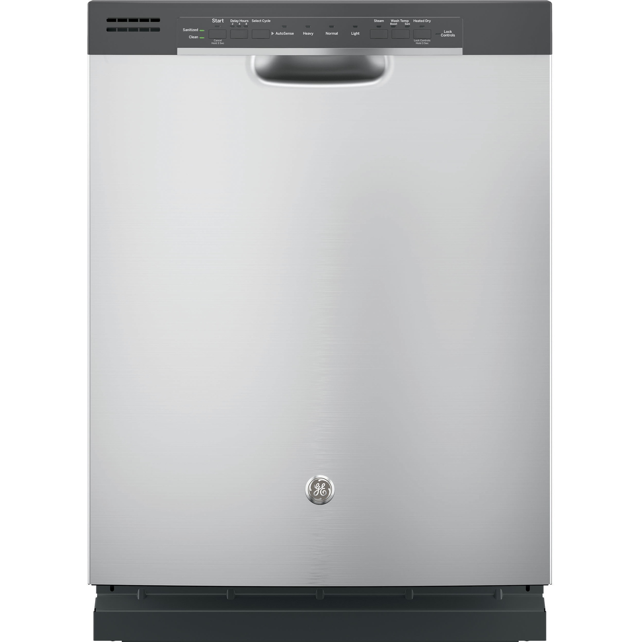 GE Black Stainless Steel Full Console Dishwasher (Beige),...