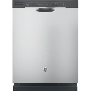 GE Black Stainless Steel Full Console Dishwasher