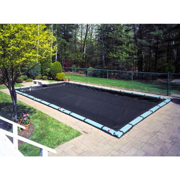 Pool Mate Blue Polyethylene Pool Cover