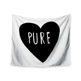 Kess InHouse Leah Flores 'Pure Heart' 51x60-inch Wall Tapestry