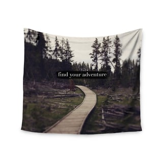 Kess InHouse Leah Flores 'Find Your Adventure' 51x60-inch Wall Tapestry