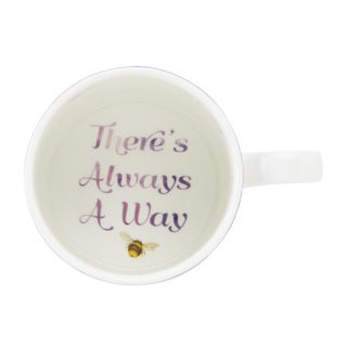 """Lenox Butterfly Meadow """"There's Always a Way"""" Mug"""
