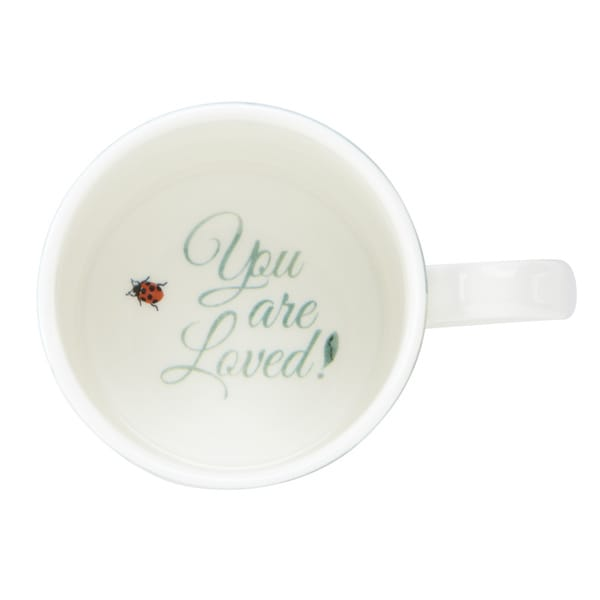 """Lenox Butterfly Meadow """"You Are Loved"""" Mug"""