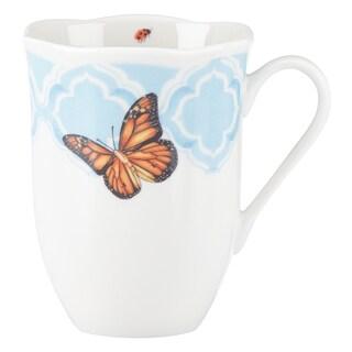 Lenox Butterfly Meadow Trellis Blue Porcelain Mug