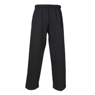 Youth Grey Cotton/Polyester Athletic Pants