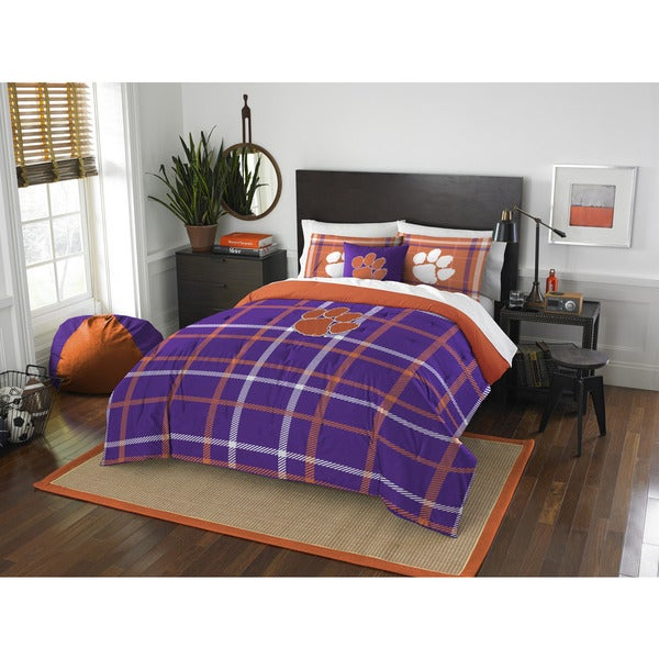 The Northwest Company Clemson University Full 3-piece Comforter Set