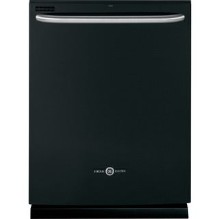 GE Artistry Series White/Black Plastic/Stainless Steel Fully Integrated Dishwasher