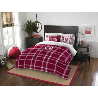 The Northwest Company Indiana University Full 3-piece Comforter Set